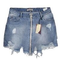Джинсовая юбка Crackpot jeans 5006