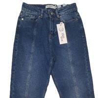Джинсы женские Zeo Bazic jeans MOM 1434