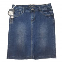 Джинсовая юбка Zjy jeans 5898