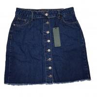 Джинсовая юбка Crackpot jeans 5010-1b