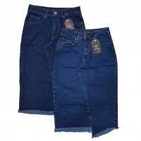 Джинсовая юбка IT'S BASIC jeans 1331