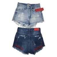 Шорты женские Cracpot jeans MOM 4412
