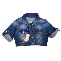 Джинсовая курточка Cracpot jeans 6220