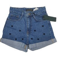 Шорты женские Cracpot jeans MOM4434