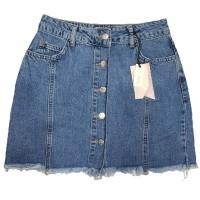 Джинсовая юбка Crackpot jeans 5008