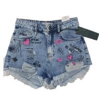 Шорты женские Cracpot jeans MOM 4438