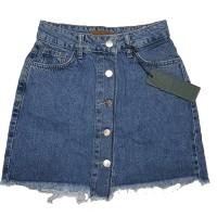 Джинсовая юбка Crackpot jeans 5009
