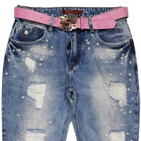 Джинсы женские Vanver Jeans 8256 Boyfriend