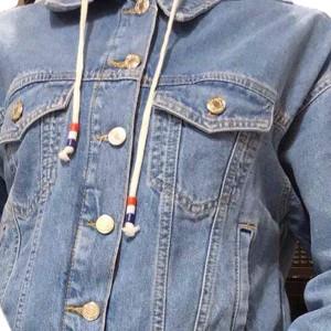 Куртка женская IT'S BASIC JEANS 1605 МОМ Турция