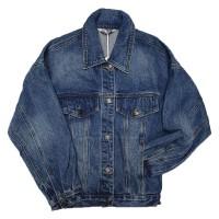 Куртка женская ZJY JEANS 9908 OVERSIZE