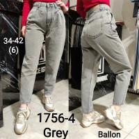 Джинсы женские IT'S BASIC JEANS 1756-4 Balloon FIT Турция