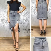 Джинсовая юбка CRACPOT 5038 Турция