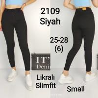 Джинсы женские IT'S BASIC JEANS 2109 SKINNY Турция