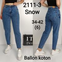 Джинсы женские IT'S BASIC JEANS 2111 BALLON Турция