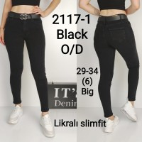 Джинсы женские IT'S BASIC JEANS 2117 SLIM Турция