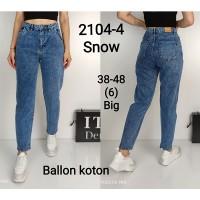 Джинсы женские IT'S BASIC 2104 Balloon
