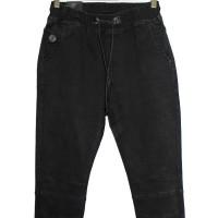 Джинсы мужские Resalsa jeans черные на резинке 3901