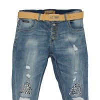 Джинсы женские Lolo blues jeans boyfriend 2306a