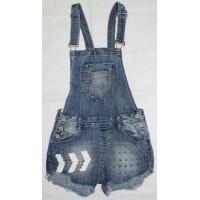 Джинсовый комбинезон с шортами No Stop jeans 2081