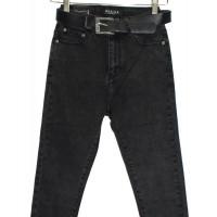 Джинсы женские Американка PTA jeans темно серый - мрамор 1090