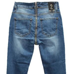 Джинсы женские со змейкой сзади Liuzin jeans 1144