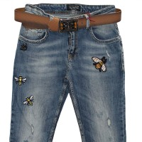 Джинсы женские Liuzin jeans boyfriend 3104