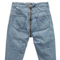 Джинсы женские со змейкой сзади Cracpot jeans MOM 3468C