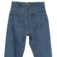 Джинсы женские со змейкой сзади Cracpot jeans MOM 3469A