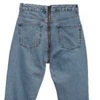 Джинсы женские со змейкой сзади Cracpot jeans MOM 3469B