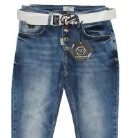 Джинсы женские Poshum jeans boyfriend 4025