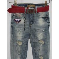 Джинсы женские Американка высокая посадка Lolo blues jeans 1505