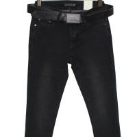 Джинсы женские Demakcel jeans темно-серые za710