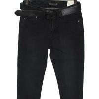 Джинсы женские Demakcel jeans темно-серые za711