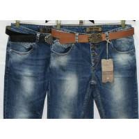 Джинсы женские Турецкие Red blue jeans boyfriend 2000