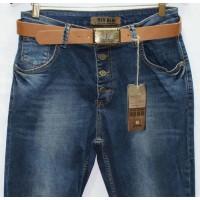 Джинсы женские Турецкие Red blue jeans boyfriend 2009
