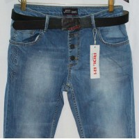Джинсы женские Red blue jeans boyfriend 2027