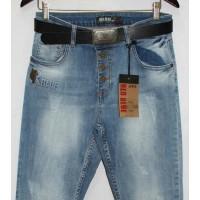 Джинсы женские Турецкие Red blue jeans boyfriend 2219