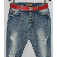 Джинсы женские Lolo blues jeans boyfriend 2303