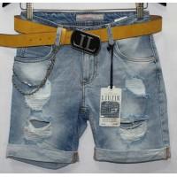 Джинсовые шорты Турецкие Liuzin jeans boyfriend 0314
