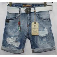 Джинсовые шорты Турецкие Poshum jeans boyfriend 0701