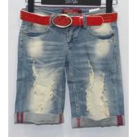 Джинсовые шорты LOLO BLUES jeans boyfriend 101