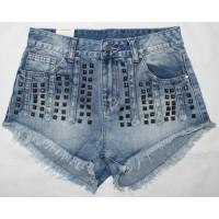 Джинсовые шорты женские MOM No stop jeans 2161