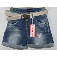 Джинсовые шорты RED BLUE JEANS boyfriend 7002