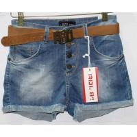 Джинсовые шорты американки Red blue jeans 7008