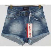 Джинсовые шорты американка Red blue jeans 9004