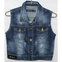 Джинсовые жилетки Poshum jeans 0327